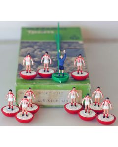 LW004. STOKE CITY. L.R. VICHENZA. Early 80's Hand Painted LW Team, numbered box.