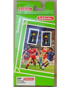 LW006. RODA. LINZER ASK. LILLESTROM. WATFORD. AEK. Late 90's Hasbro LW Team, numbered box. Solid Yellow Bases.