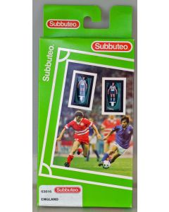 LW016. ENGLAND 1997-99. Late 90's Hasbro LW Team, numbered box. Solid Red Bases.