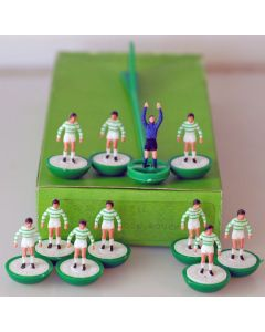 LW025. CELTIC. SHAMROCK ROVERS. Early 80's Machine Printed LW team, numbered box.