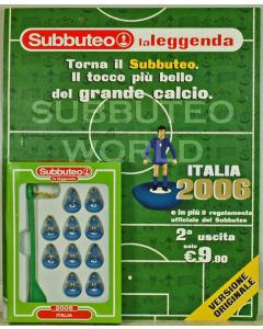 002. ITALY 2006. FABBRI SUBBUTEO TEAM, INCLUDES BOOKLET.