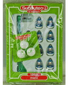 151. ITALY 1968. FABBRI VINTAGE EDITION OFFICIAL SUBBUTEO TEAM, INCLUDES BOOKLET & BALL PACK.