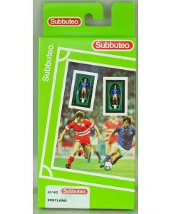 LW162. SCOTLAND - UMBRO SPONSORS LOGO. 1996-98 Hasbro LW Team, numbered box.