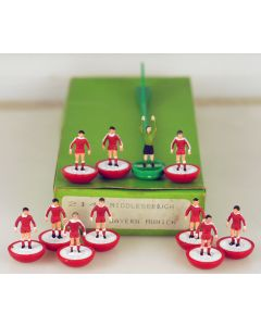 LW214. MIDDLESBROUGH. BAYERN MUNICH. Early 80's Hand Painted LW team, numbered box.