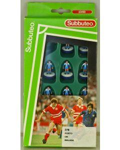 LW278. PORTO. MALAGA. OB (ODENSE BOLDKLUB). Rare Mid 90's Waddington's LW team, numbered box.