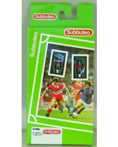LW286. YORK CITY. FC BASEL. STEAUA. Late 90's Hasbro LW Team, numbered box. Solid Blue Bases.