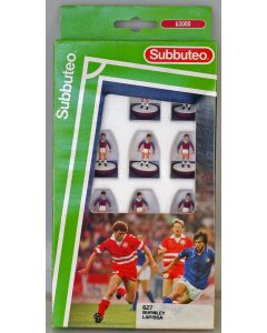 LW627. BURNLEY. LARISSA. Early 90's LW Team, numbered box.