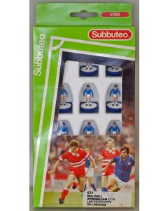 LW631. LEICESTER CITY. MILLWALL. BIRMINGHAM. GILLINGHAM. Early 90's LW team, numbered box.