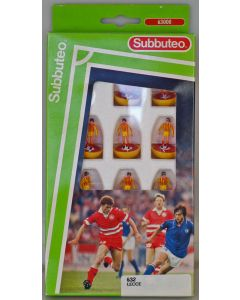 LW632. LECCE. Early 90's Machine Printed LW Team, numbered box.