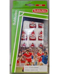 LW648. CHARLTON. MIDDLESBOROUGH. NIMES. Early 90's LW Team, numbered box.