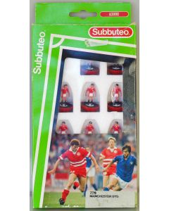 LW729. MANCHESTER UTD. 1990-92. Early 90's LW team, numbered box.