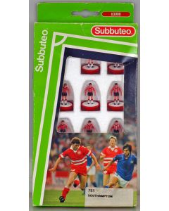 LW751. SOUTHAMPTON 1991-93. Early 90's LW Team, numbered box.