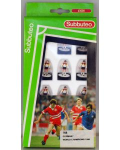 LW768. GERMANY. WORLD CHAMPIONS 1990. Early 90's LW team, numbered box.