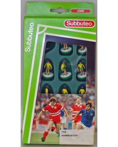 LW772. NORWICH CITY 1ST 1992-94. Early 90's LW Team, numbered box.