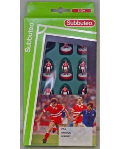 LW774. ARSENAL 1992-94 - JVC SPONSORS LOGO. NORWAY. Early 90's LW Team, numbered box.