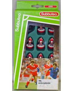 LW784. MIDDLESBROUGH. 1992-94 LW Team, numbered box.