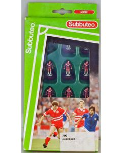 LW790. BORDEAUX. Mid 90's LW Team, numbered box. Claret Bases, Black Discs.