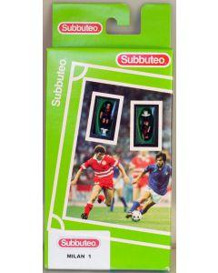 63000. AC MILAN 1ST. 2002 Hand Painted Green Box Hasbro LW Subbuteo Team. Produced By Edilio Parodi.