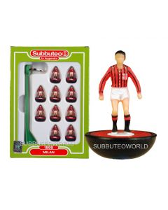 AC MILAN 1899. Retro Subbuteo Team. Modelled on the LW Figure & Bases From the 1980's.