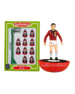 AC MILAN 1993. Retro Subbuteo Team. Modelled on the LW Figure & Bases From the 1980's.