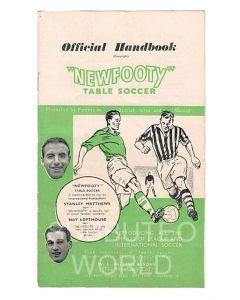 1954-55 ORIGINAL NEWFOOTY HANDBOOK.