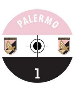 PALERMO DECALS. (24 base stickers with badge, name & numbers)