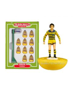PARMA. Retro Subbuteo Team. Modelled on the LW Figure & Bases From the 1980's.