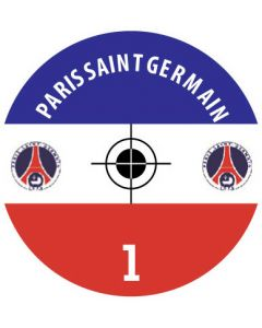 PARIS SG DECALS. (24 base stickers with badge, name & numbers)