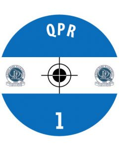QPR DECALS. (24 base stickers with badge, name & numbers)