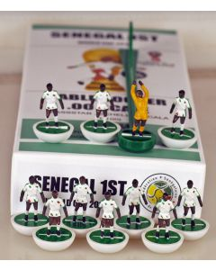 01. SENEGAL 1ST 2018 WORLD CUP. Ltd Edition Hand Painted Team. White Base, Green Disc.
