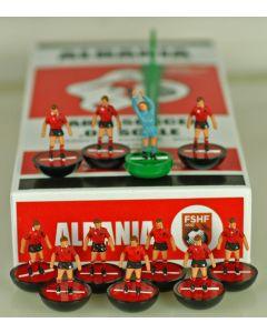 03.EURO. ALBANIA 1ST EURO 2016. Ltd Edition Hand Painted Team.