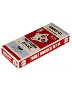 67000. BURNLEY 1ST 2020-21. LTD EDITION PREMIER LEAGUE COLOURED TEAM HOLDER BOX.