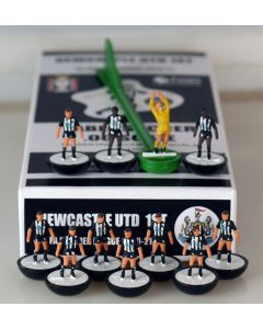 0012020. NEWCASTLE UTD 1ST 2020-21. PREMIER LEAGUE TEAM. Ltd Edition Hand Painted Team.
