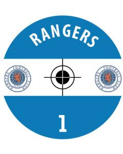 RANGERS DECALS. (24 base stickers with badge, name & numbers)