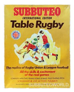 1970's FRENCH RUGBY INTERNATIONAL EDITION. Very Rare Includes French Rules Booklet.
