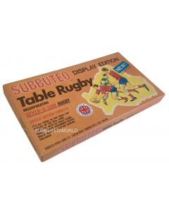 1972 SUBBUTEO RUGBY 7-A-SIDE ITALIAN DISPLAY EDITION. With Teams, Goals, Italian Rules ETC.