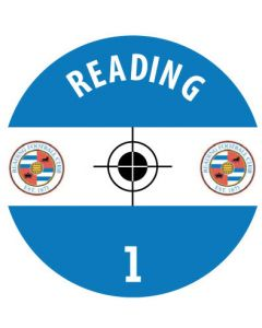 READING DECALS. (24 base stickers with badge, name & numbers)