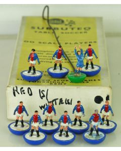 HW002. A REPAINTED OHW TEAM POSSIBLY AN ORIGINAL REF NUMBER 2 WITH BLUE BASES.