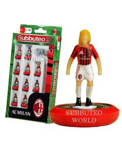 AC MILAN 1ST. NEW PAUL LAMOND OFFICIAL LICENSED SUBBUTEO TEAM.