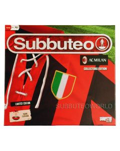 001. AC MILAN COLLECTORS EDITION BOX SET. With 2 LW Teams: AC MILAN & FERENCVAROS, Player Numbers, Goals, A Ball, A Cotton Pitch & Rules.