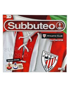 001. ATHLETIC BILBAO OFFICIAL LICENSED COLLECTORS EDITION BOX SET. With 2 LW Teams: ATHLETIC BILBAO & PORTO, Player Numbers, Goals, A Ball, A Cotton Pitch & Rules.
