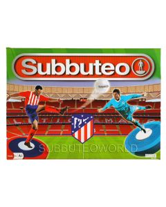 001. ATLETICO MADRID 2021 OFFICIAL LICENSED SUBBUTEO BOX SET. Now With New Design Flexible Figures.