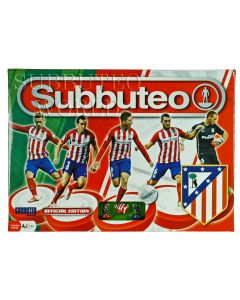 001. ATLETICO MADRID 2015-16 OFFICIAL LICENSED SUBBUTEO BOX SET.