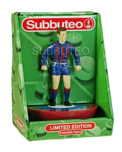 01. A LTD EDITION COLLECTABLE SUBBUTEO FIGURE IN THE COLOURS OF BARCELONA.