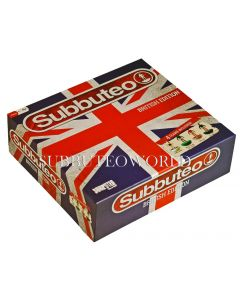 001. BRITISH LTD EDITION UNION JACK SUBBUTEO BOX. This is the box only. There are no teams, balls, goals, pitch or rules with this box.