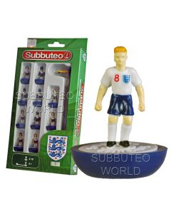 ENGLAND 1ST NEW FOR 2020. UNIVERSITY GAMES SUBBUTEO TEAM. NAMED BOX. With Blue Shorts.