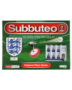 001. ENGLAND SUBBUTEO BOX SET. NEW FOR 2020. Now With New Design Flexible Figures.