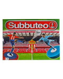 001. REAL SPORTING DE GIJON OFFICIAL LICENSED SUBBUTEO BOX SET.