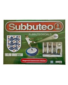 001. THE NEW ENGLAND LIONESSES SUBBUTEO BOX SET. NEW FOR 2021. Now With New Design Flexible Female Figures.