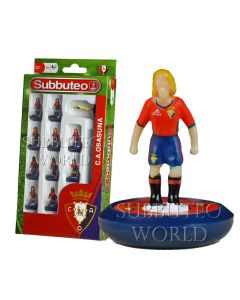 OSASUNA 1ST. NEW PAUL LAMOND OFFICIAL LICENSED SUBBUTEO TEAM.